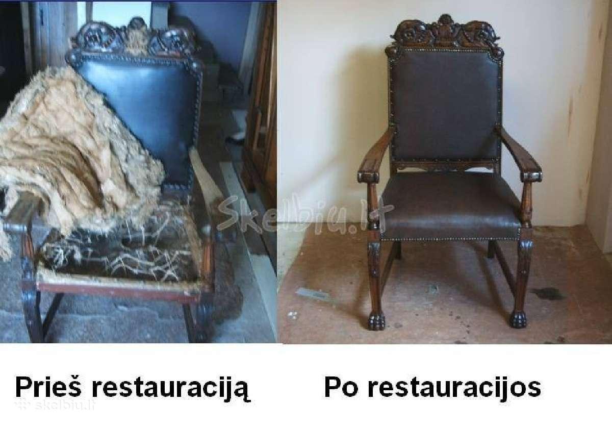 Baldų restauravimas