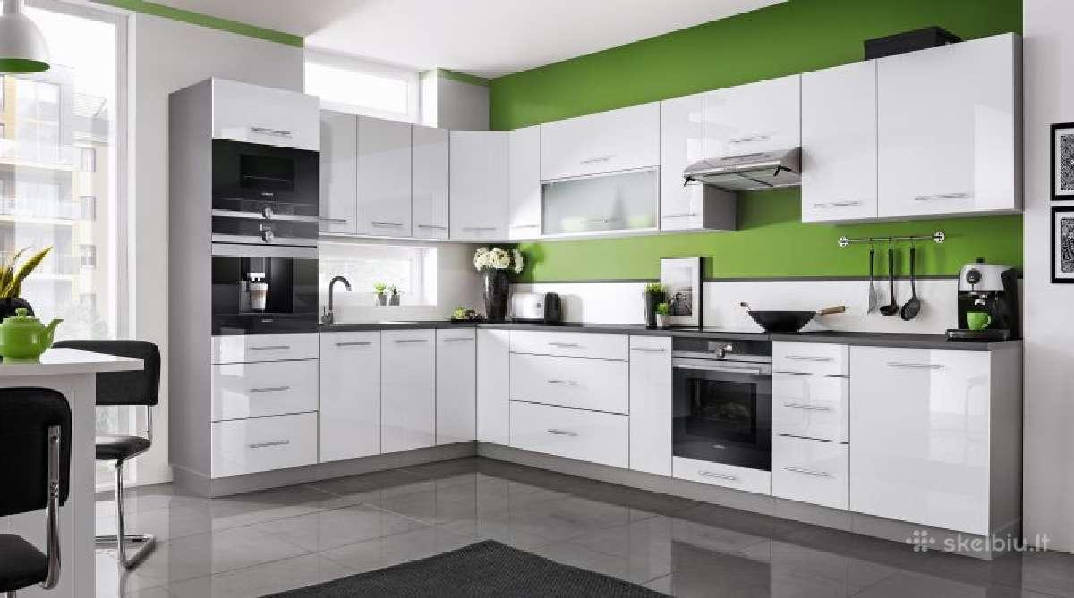 Modernus virtuves modulinis komplektas Taja
