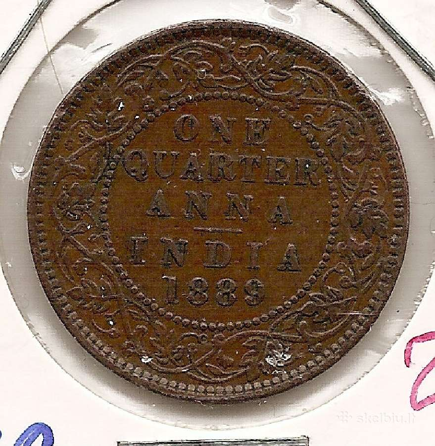 Indija 1/4 anna 1889 #486