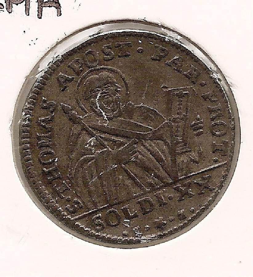 Italija Parma 20 soldi 1795