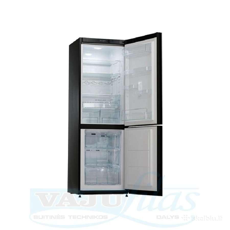 Naujas šaldytuvas Snaigė Rf34sm-p1jj27 A++ stiklas