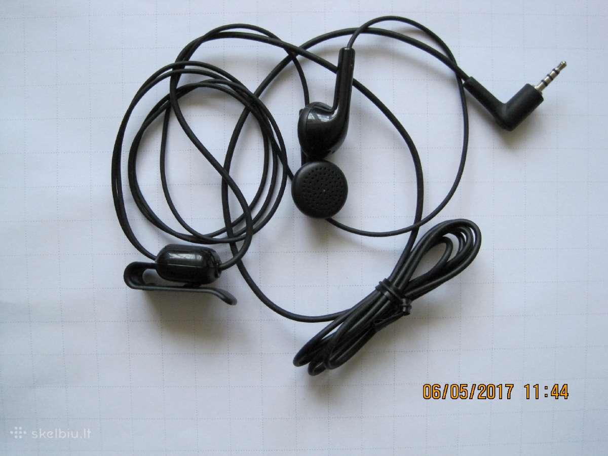 Nokia Nauja, Originali laisvu ranku iranga-ausines