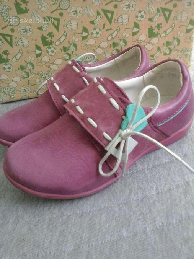 Shagovita odiniai bateliai panelytei