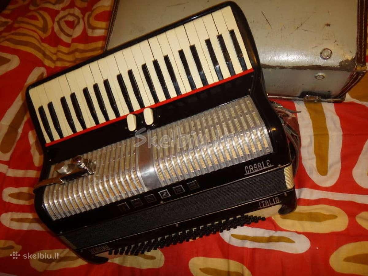"""Itališkas akordeonas """"Urznis"""" - Verona Casale"""""""