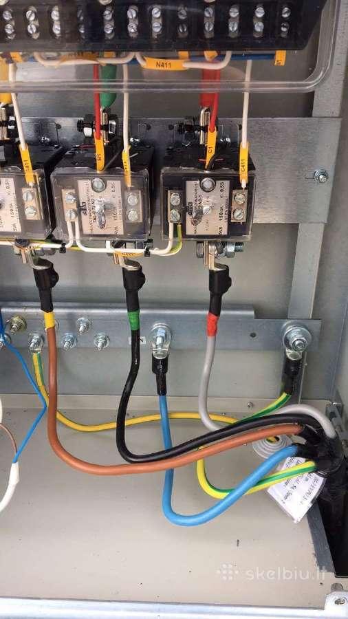 Elektros ir signalizacijos montavimas