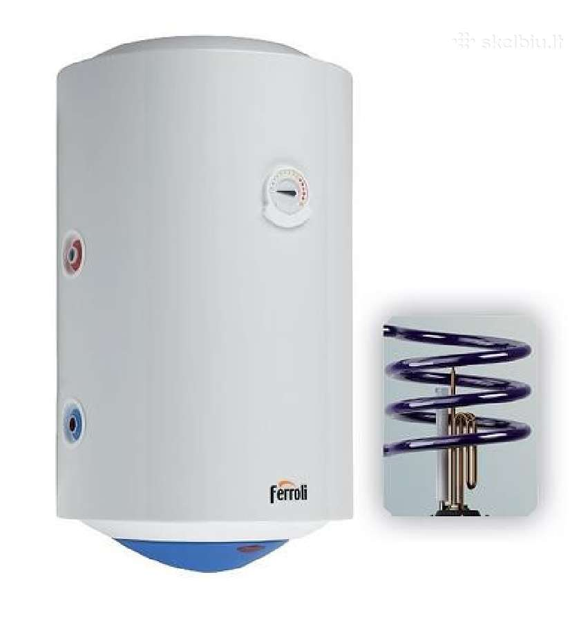 Kombinuotas vertikalus vandens šildytuva
