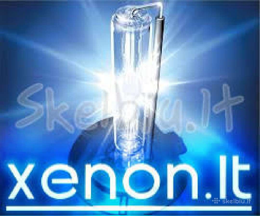 Xenon D1s 12e, D2s 5e, D3s 13e ksenono lempute led