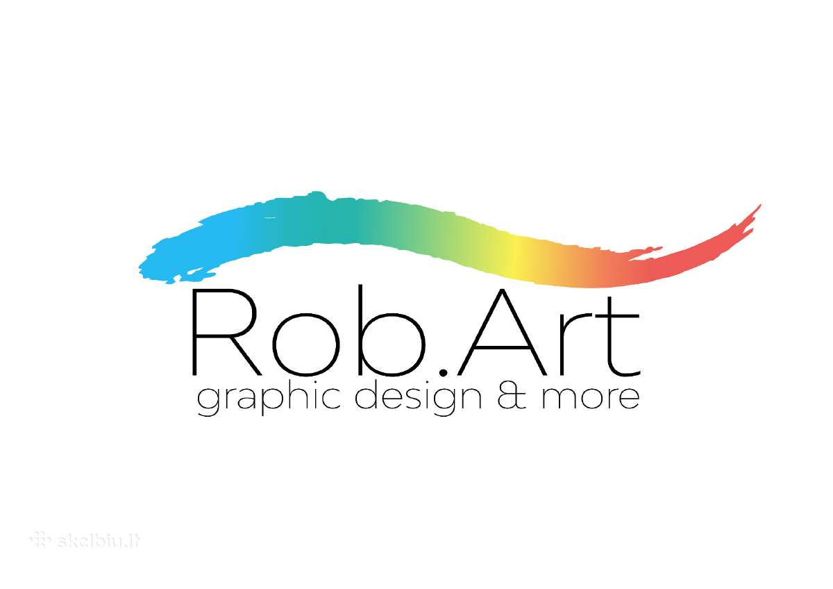 Rob.art - Logotipu kurimas 40 e, Grafinis dizainas