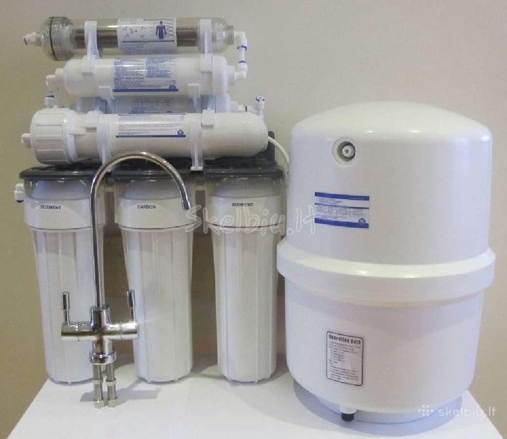Vandens filtrai. aquafilter geriamo vandens sist