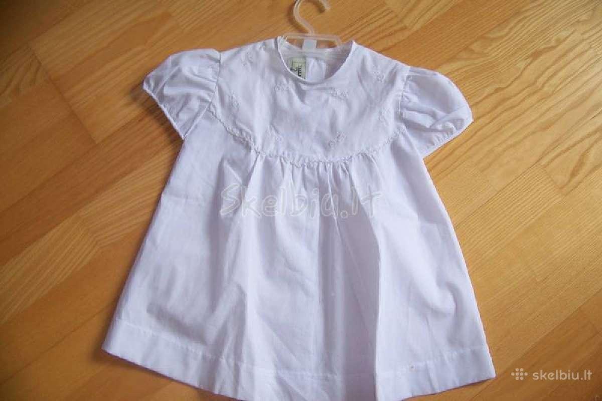 Nebrangiai, nauji ir dėvėti dukrytės drabužėliai.