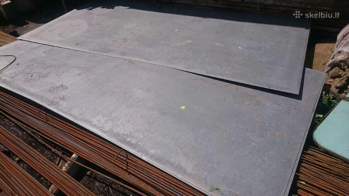 Cinkuoti metalo lakštai 0,5 mm -3mm
