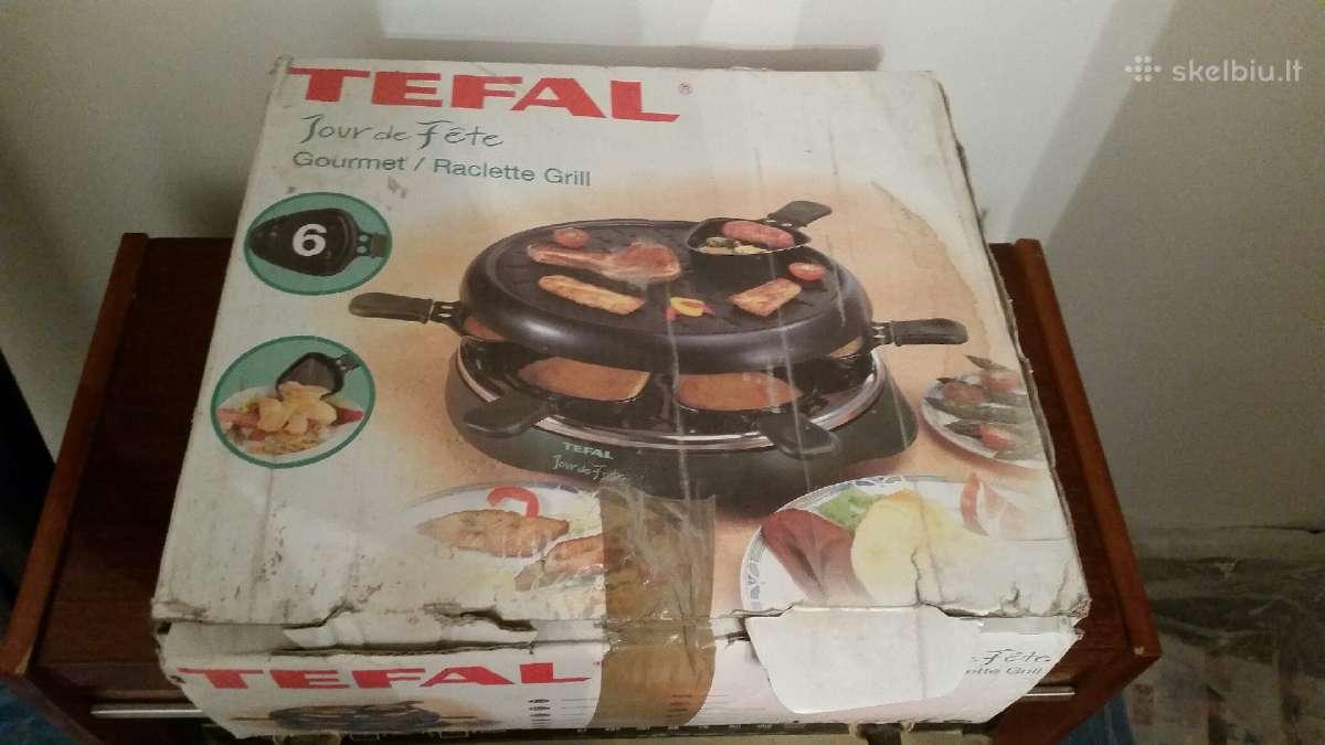 Tefal originalus grilis nenaudotas