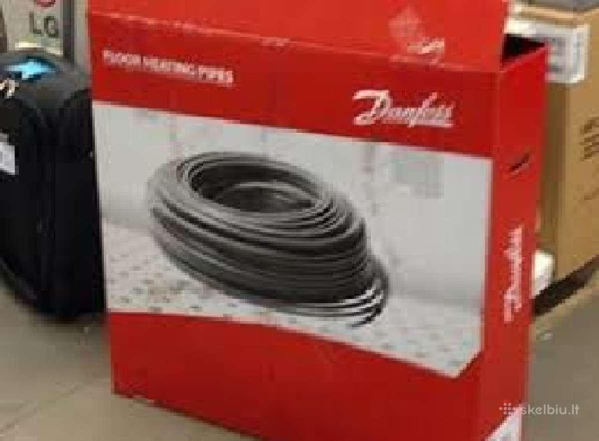 Grindų-grindinio sildymo vamzdis danfoss,.