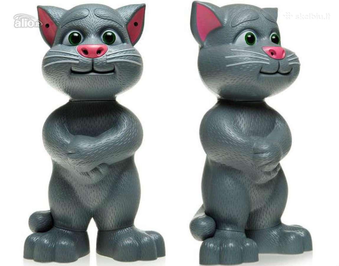 Šnekantis katinas tomas