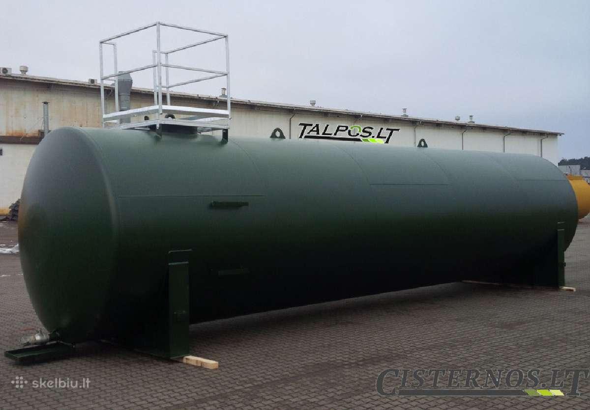 Metalinė cisterna trąšoms