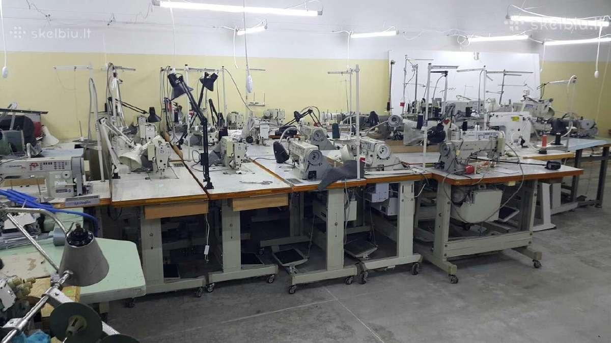 Išparduodam siuvimo mašinos siuvykloms nuo 30 eurų