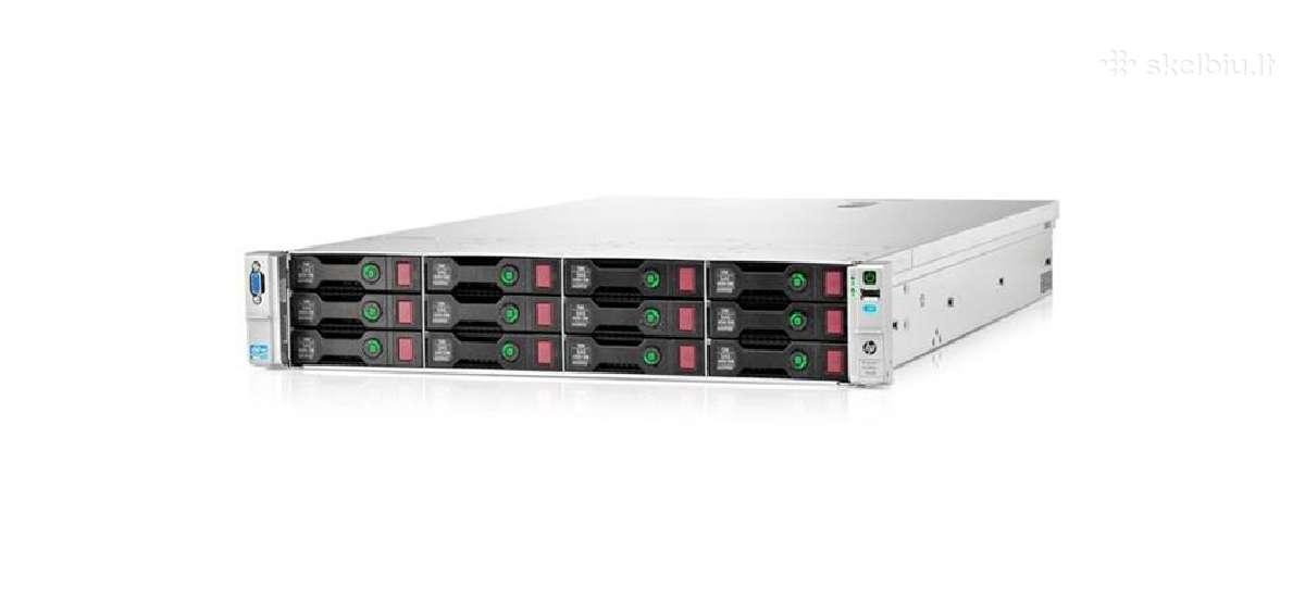 Hp Proliant Dl380e G8 2 x E5-2450l, 16gb, P420/1gb