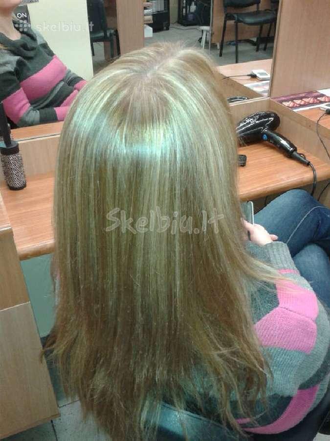 Akcija-plaukų dažymas 15 Eur.