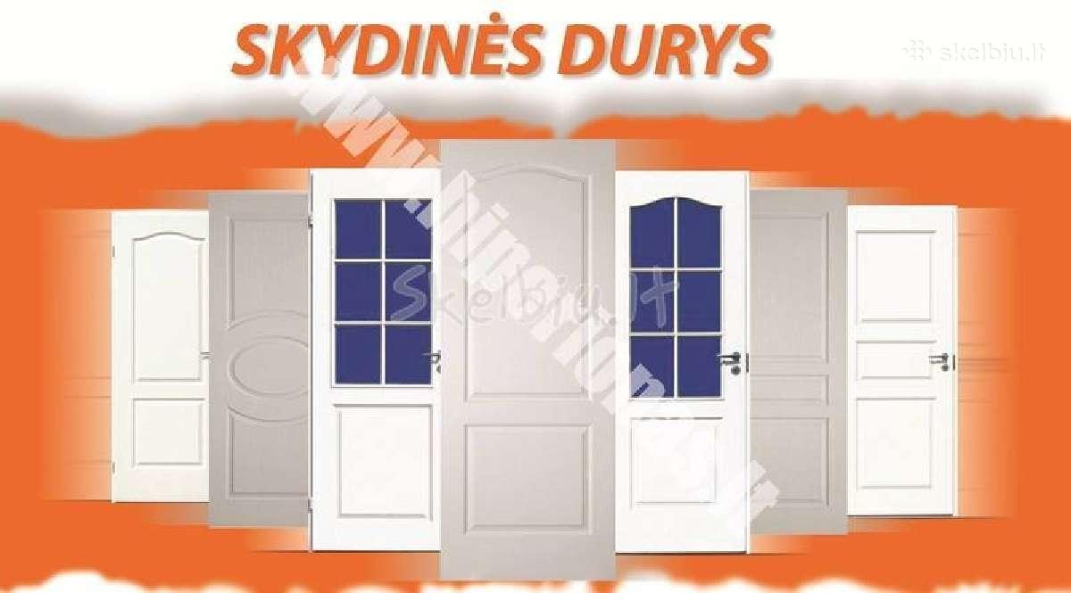 Vidaus dažytos skydines durys vilniuje