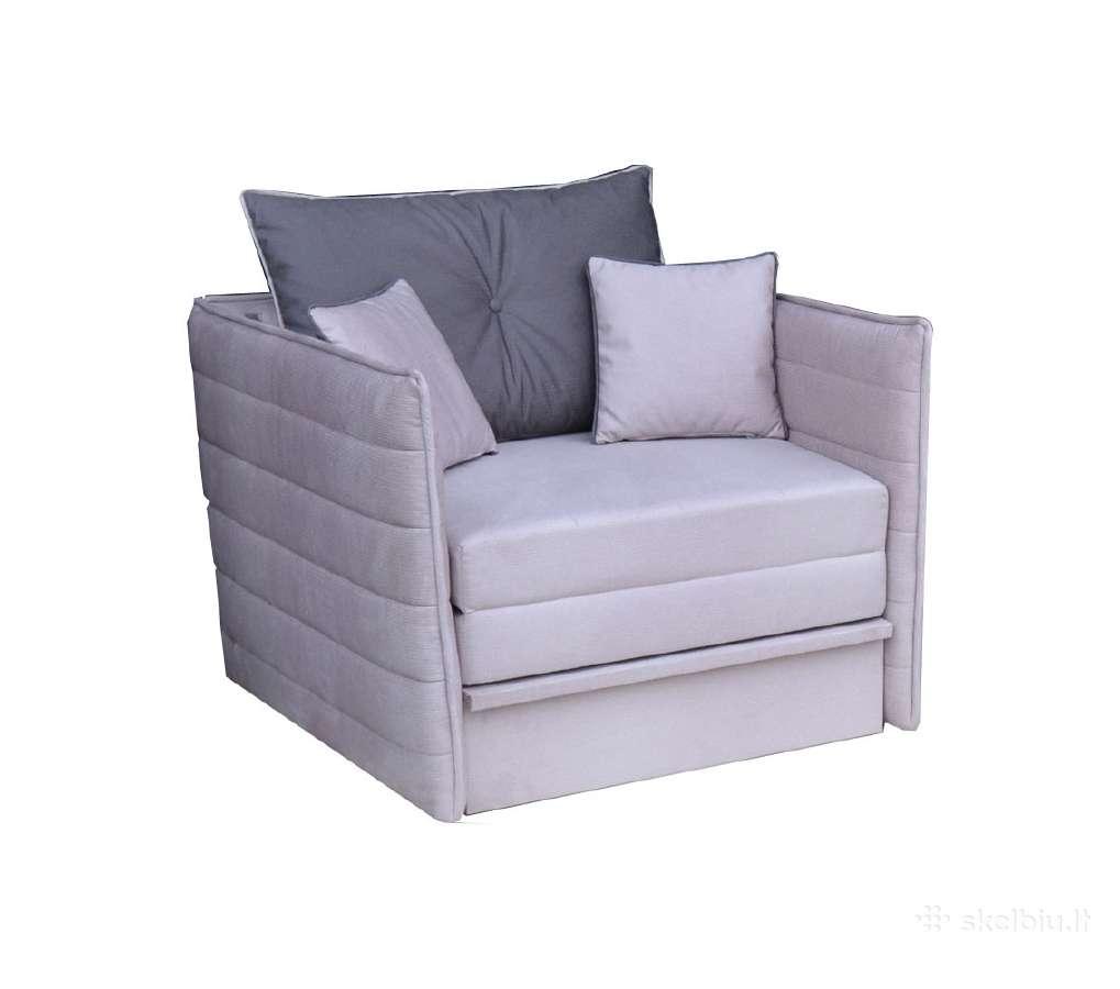 Sofos lovos, minkšti kampai, foteliai, tachtos