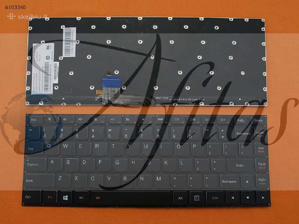 Lenovo Yoga klaviaturos Vilniuje
