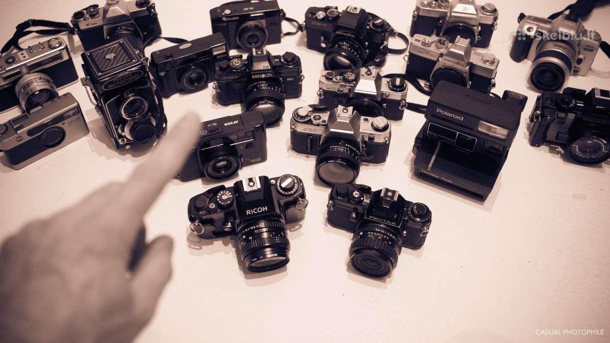 Nikon ,canon, yashica ,minolta ir kt ji