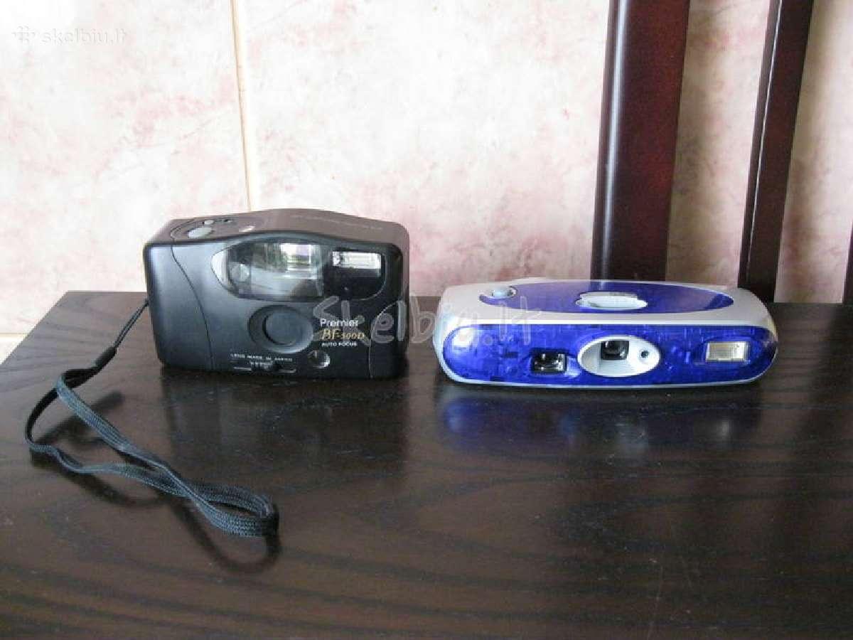 Fotoaparatai .parduodami sykiu - 2 vnt