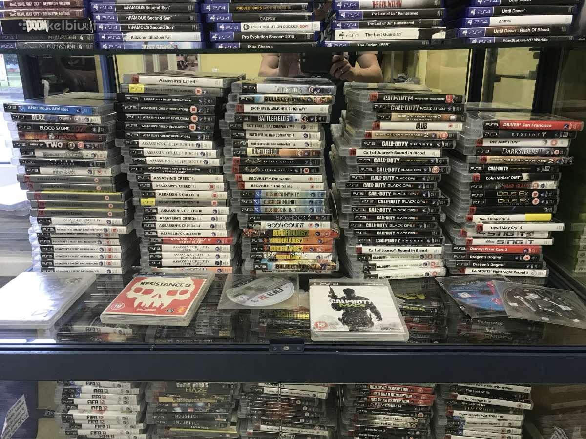 Parduodu originalius Sony PS3 žaidimus