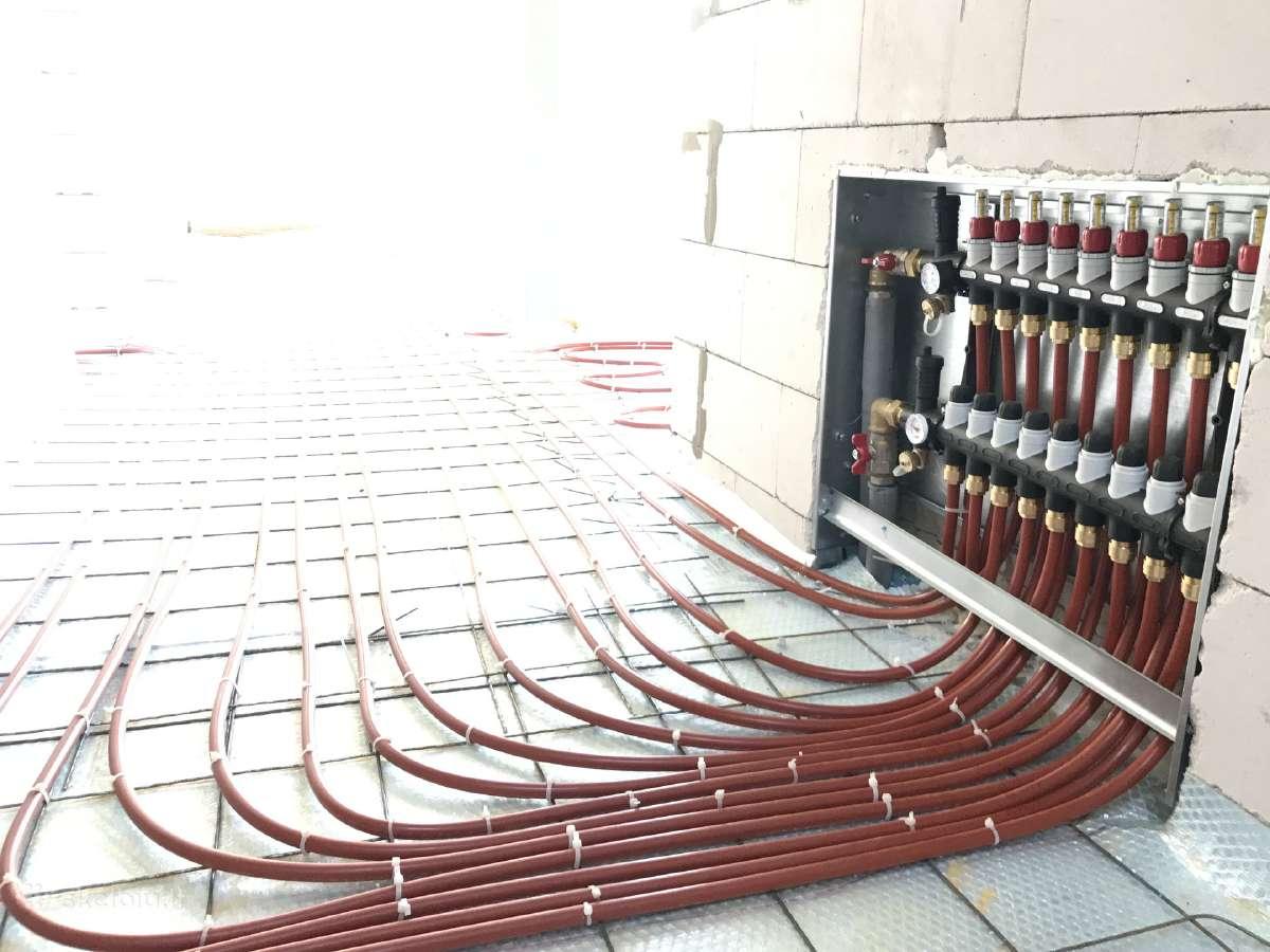 Wavin grindinio šildymo sistema