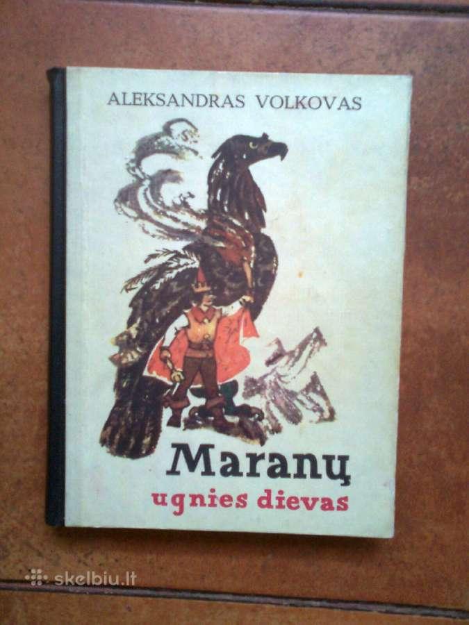 """A. Volkovas """"Maranu ugnies dievas"""" 1977 metai."""