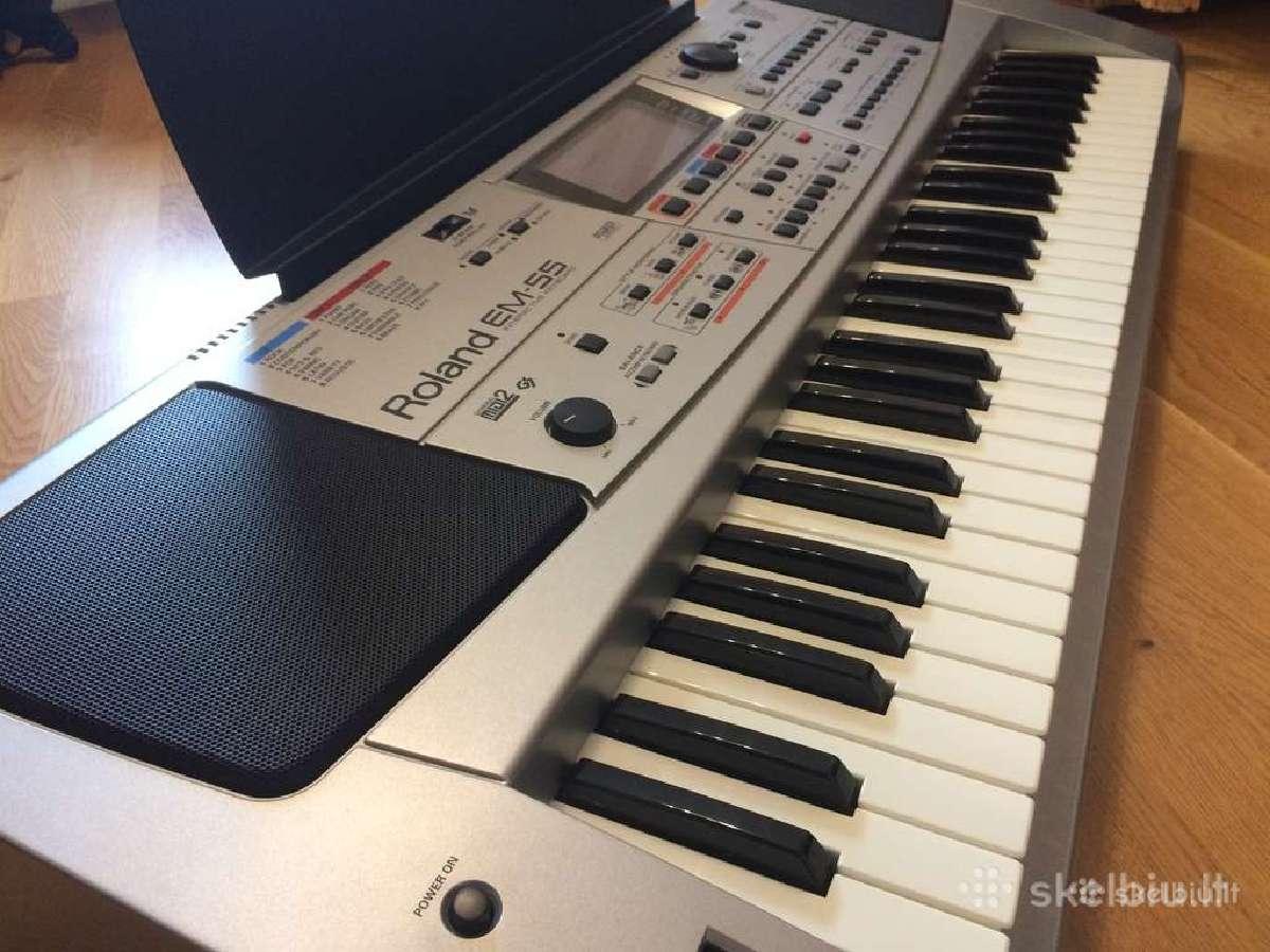 Roland Ex Syntez. em-15 em-10. em-55.