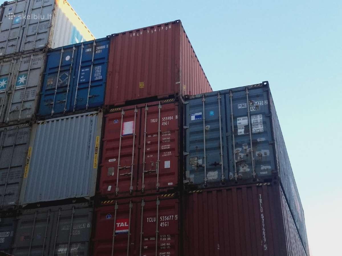 Nupirksime jūsų konteineris.