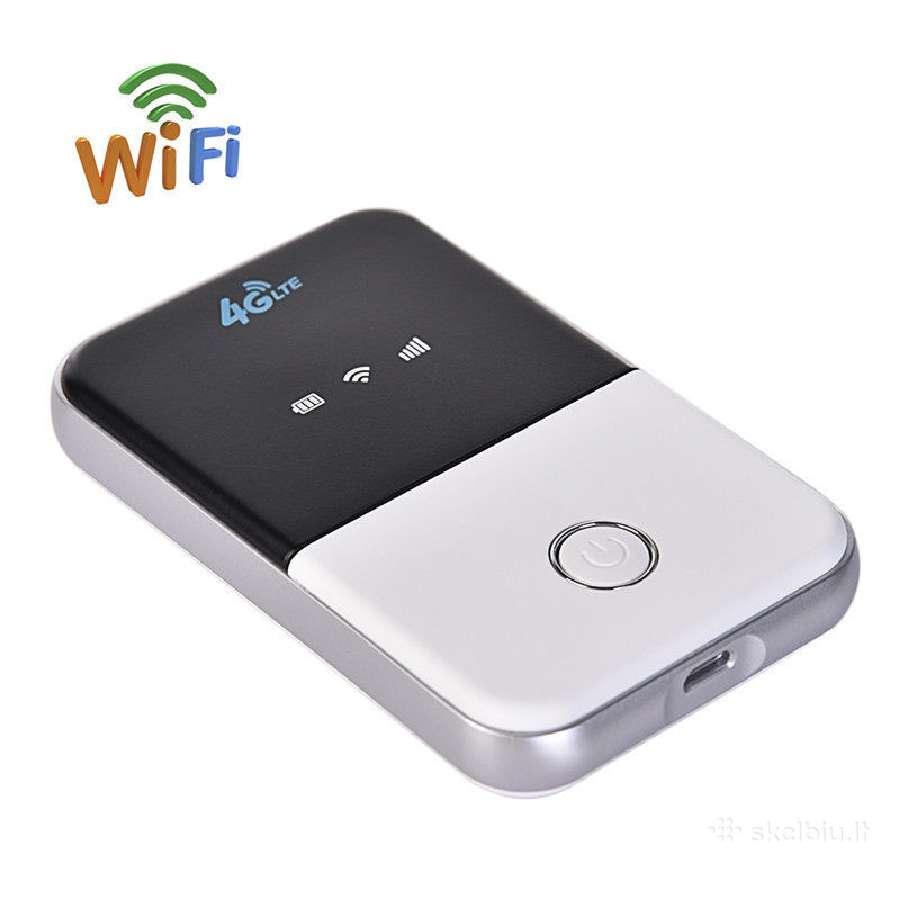 4G Lte 3g modemas routeris WiFi su Sim kortele