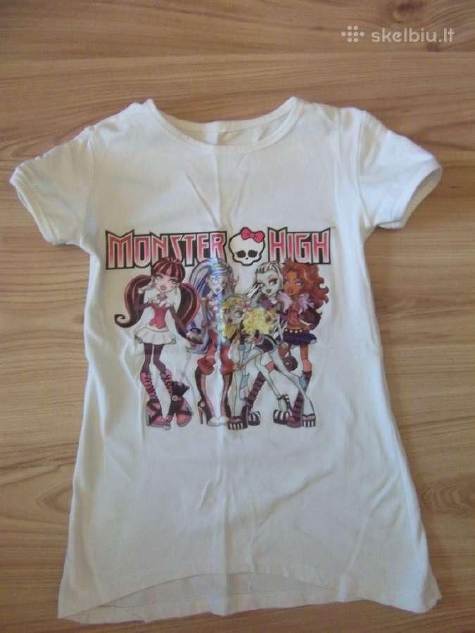 Mergaitei madingi marškinėliai
