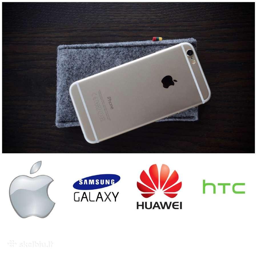 Veltiniai telefonų, kompiuterių, planšečių dėklai