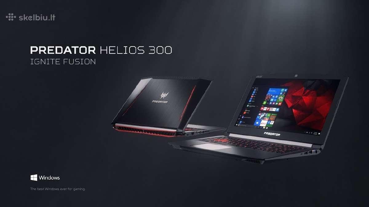 Acer Predator, Nitro i7-7700hq, Asus notebookai
