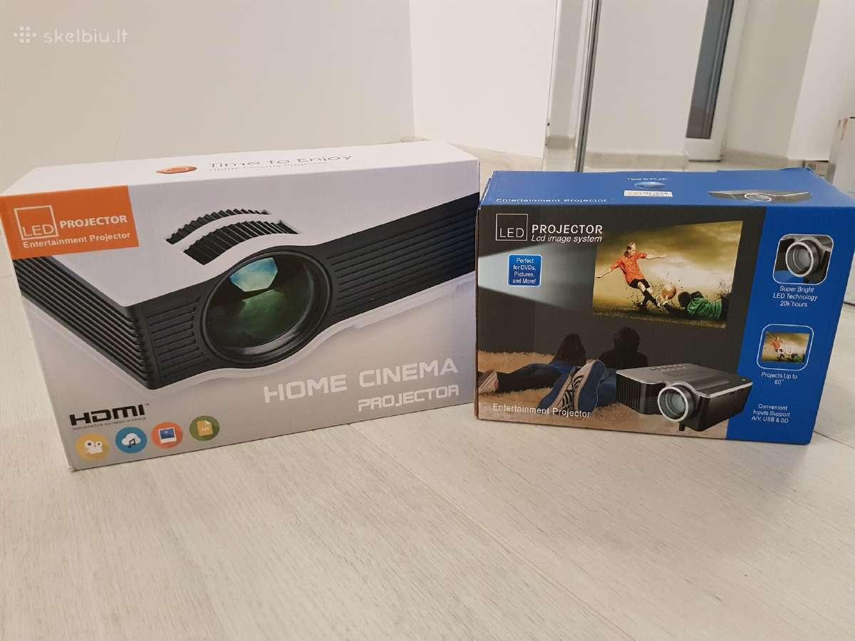Nauji ir galingi projektoriai