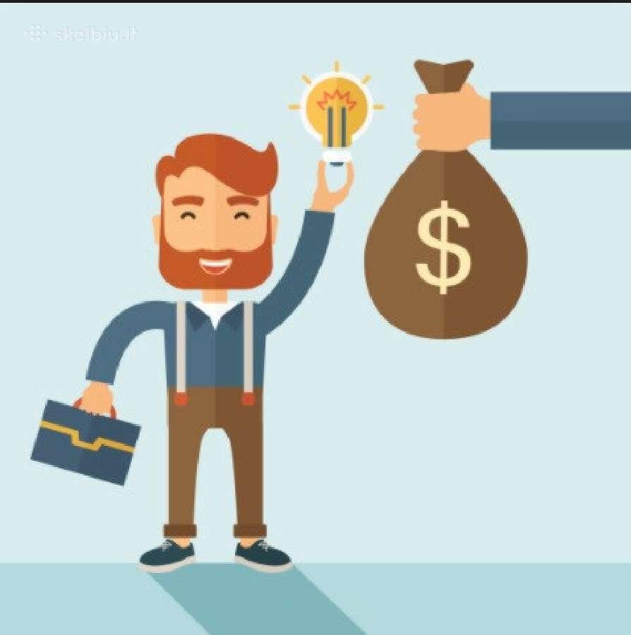Paskolos-kreditai-verslo finansavimas-be tarpinink