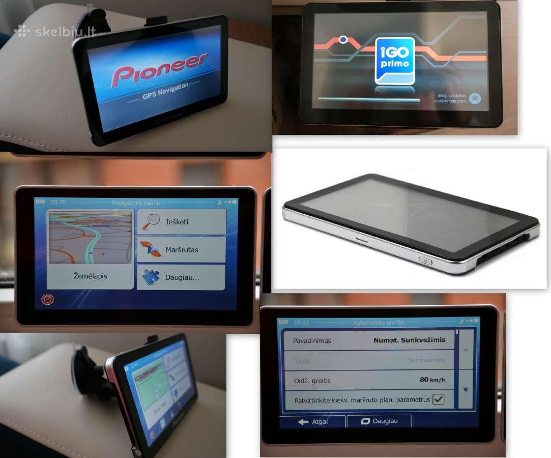 Pigiai Nauja GPS navigacija 7 Igo 8gb 256 MB RAM