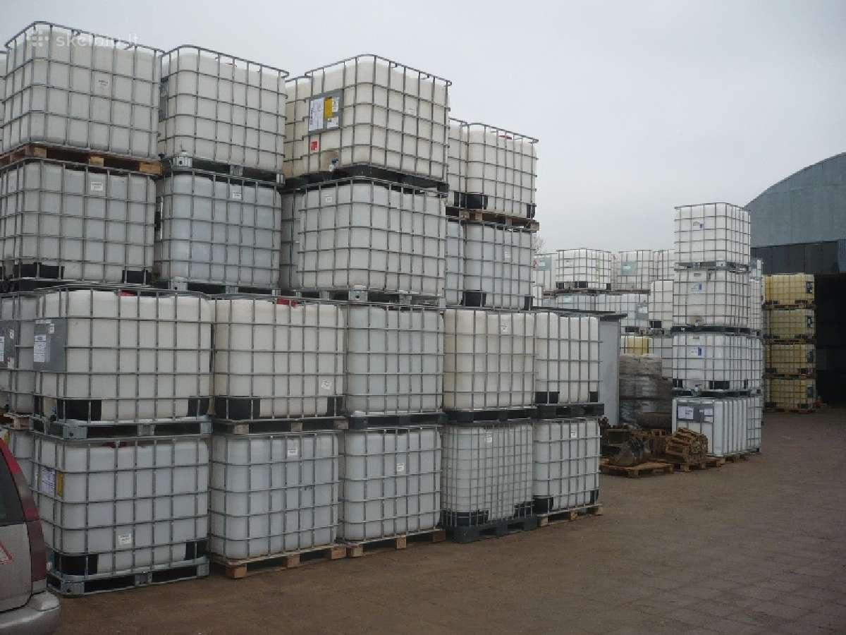 1000 ltr konteineriai