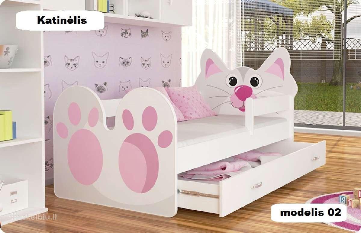 Viengulės,dvigulės,dviaukštės lovos nuo 95€