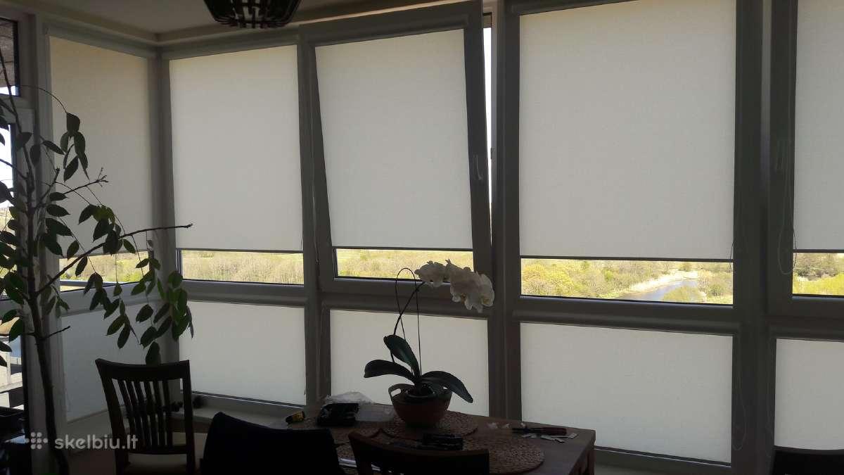 Zaliuzes,roletai,fotoroletai, plastikiniai langai.