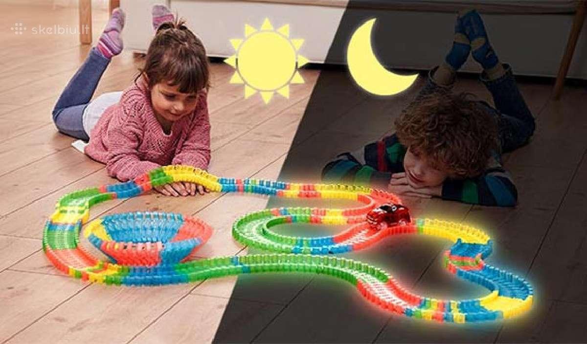 Magic tracks žaislas vaikams