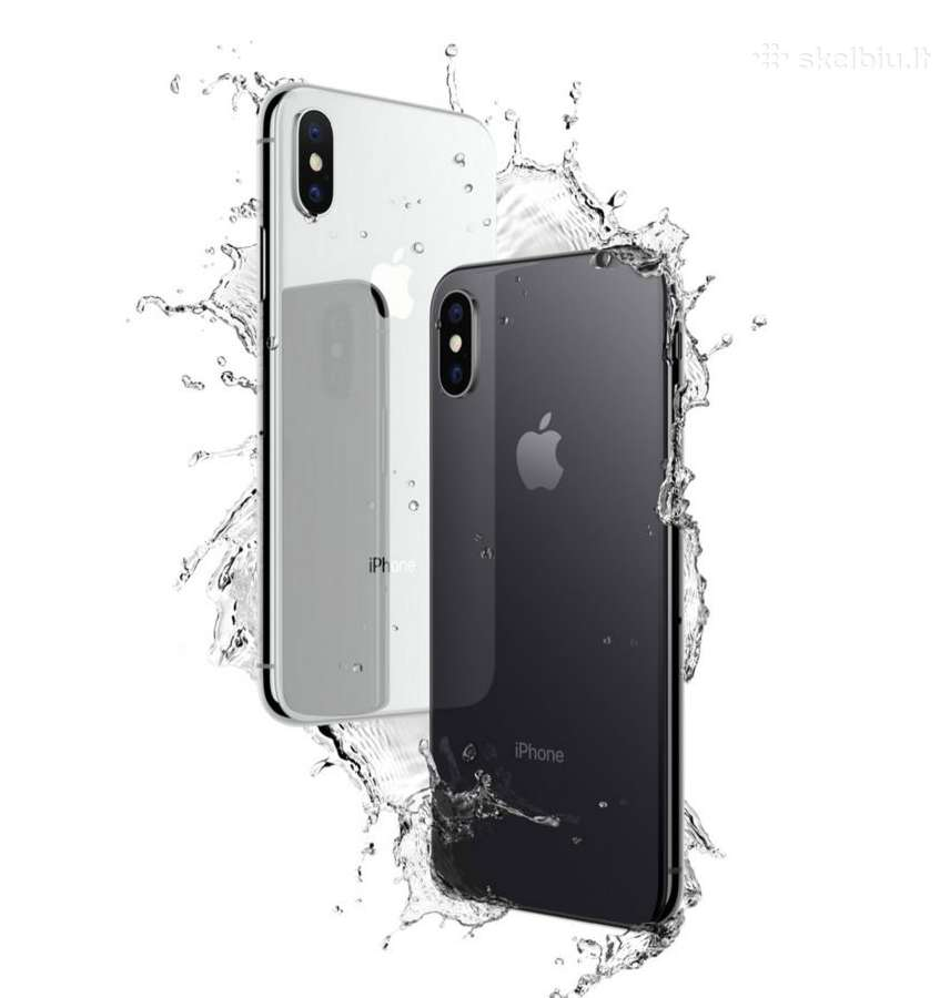 Naujas ir naudotas iPhone X