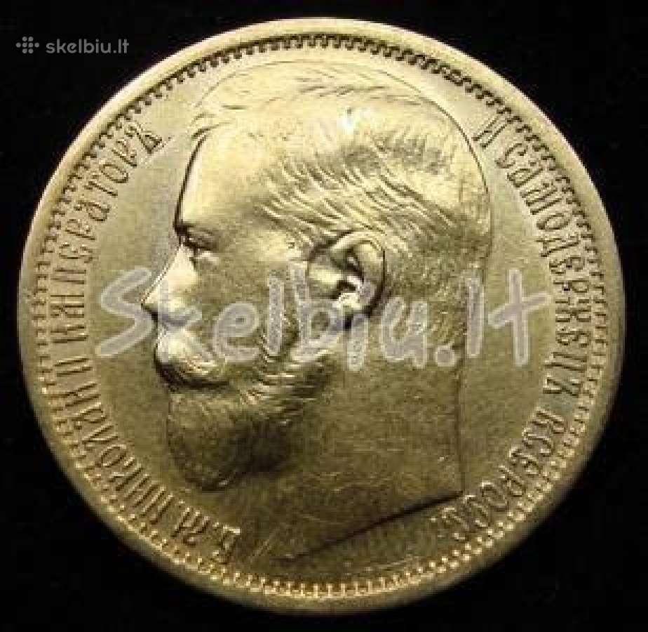 Brangiai perku auksines ir sidabrines monetas