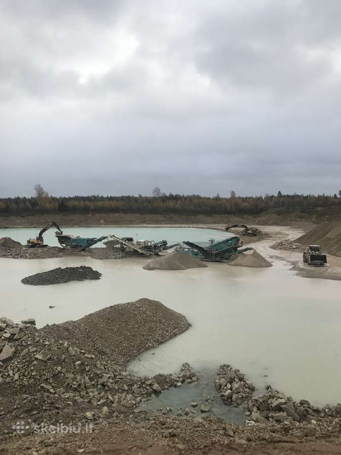 Žvyras smėlis skalda juodžemis 1-18m3
