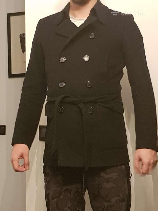 Originalus Hugo boss juodas paltas S/m dydzio