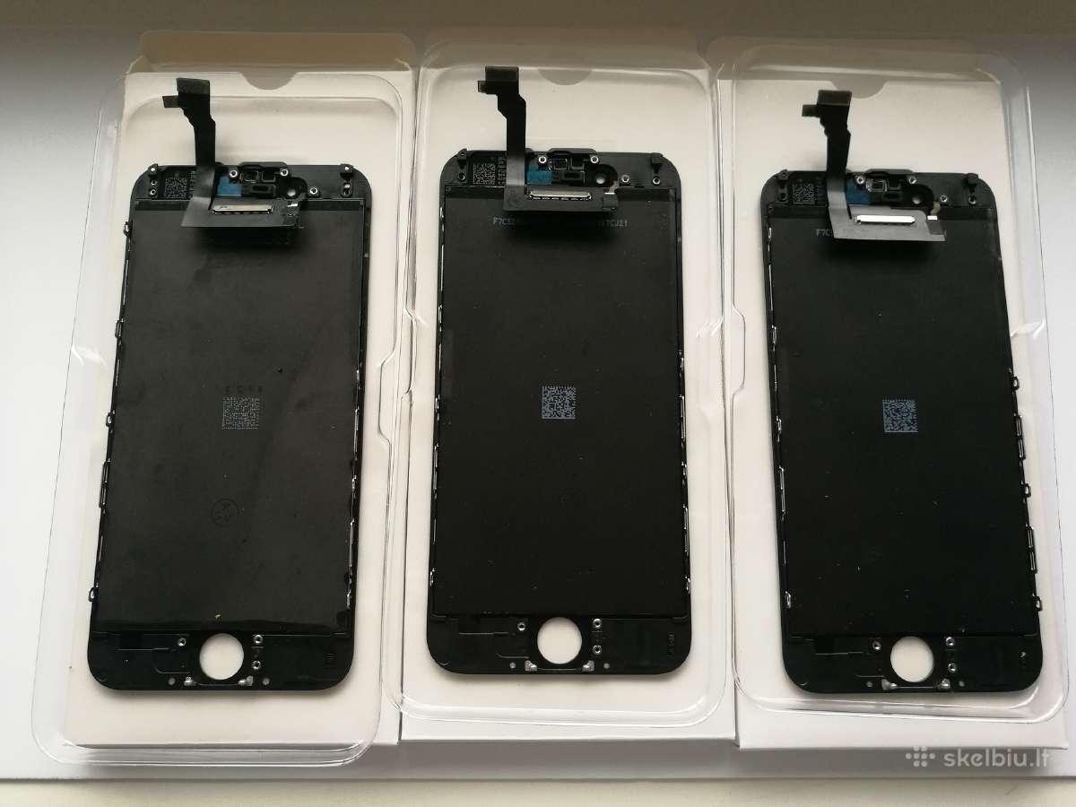 Originalūs iPhone LCD ekranai, baterijos