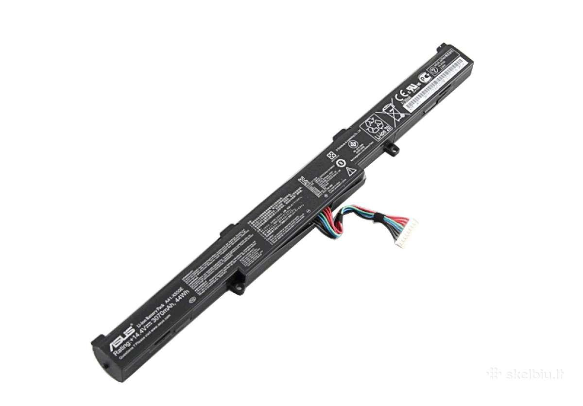 Naujos asus baterijos A41-x550e 34 eu