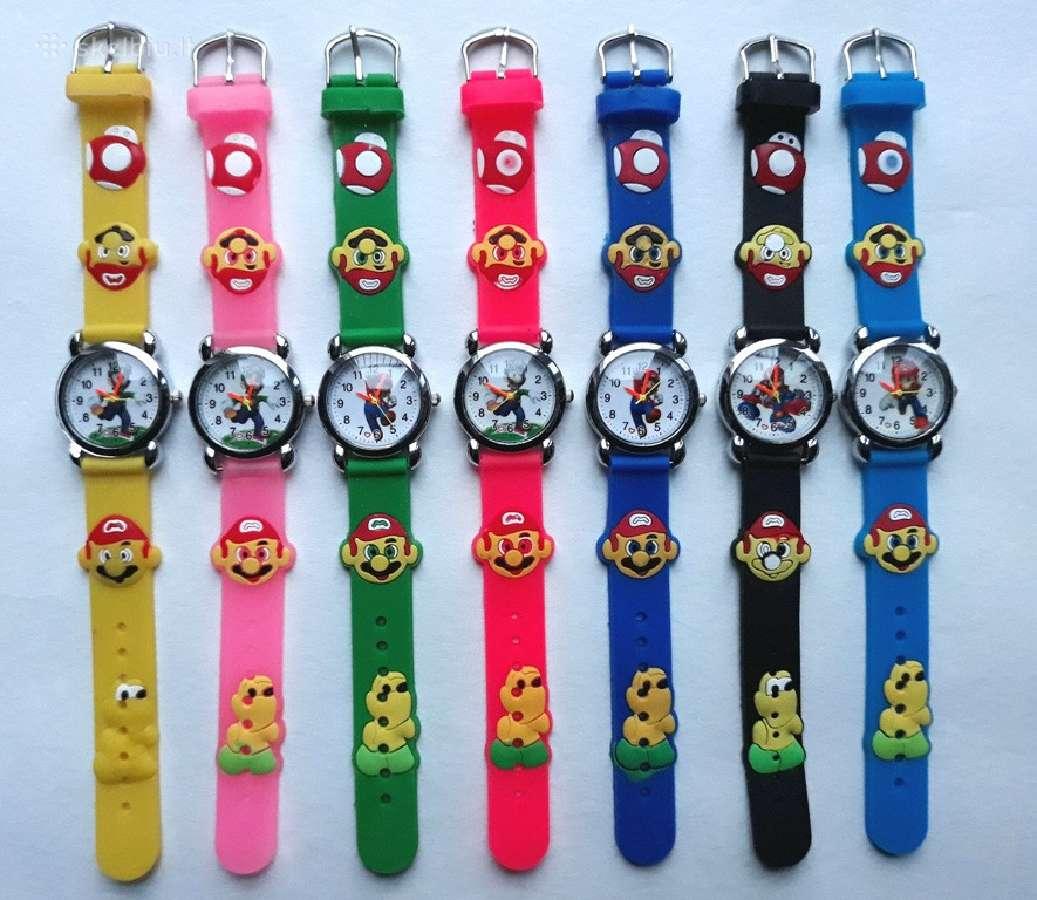 Nauji laikrodžiai Frozen, cars, žmogus voras, Pepp